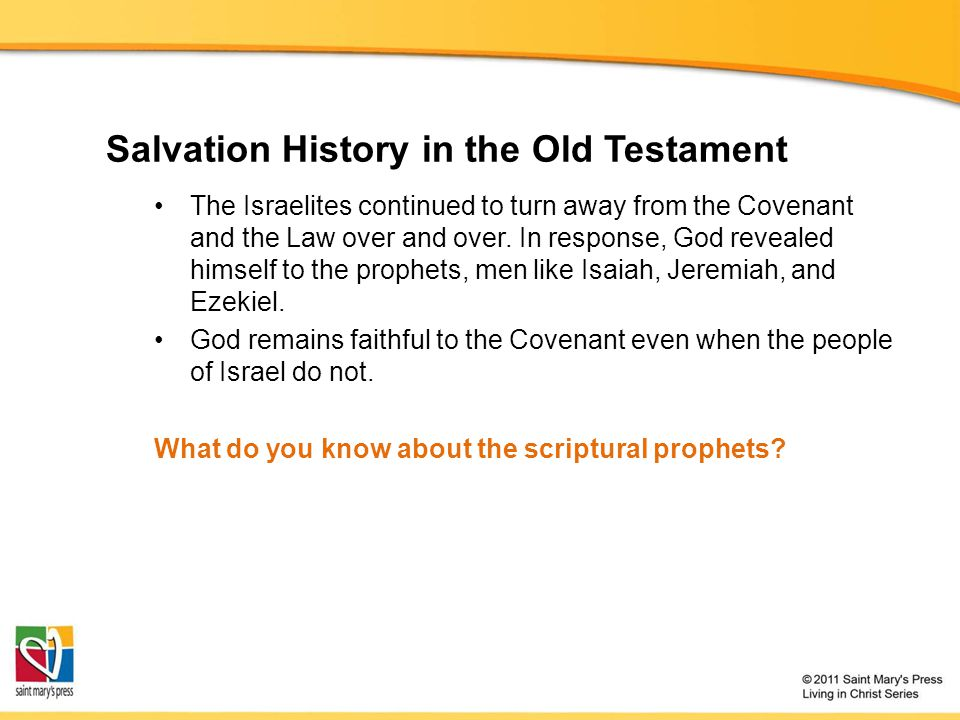 Salvation History in the Old Testament
