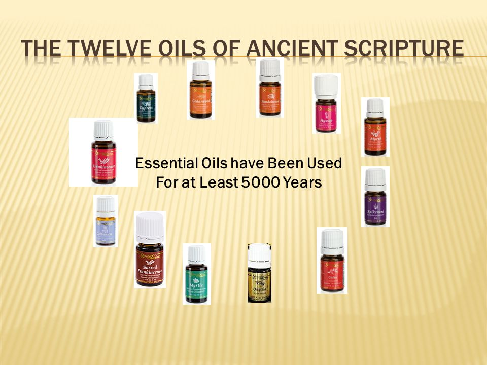 The Twelve Oils of Ancient Scripture