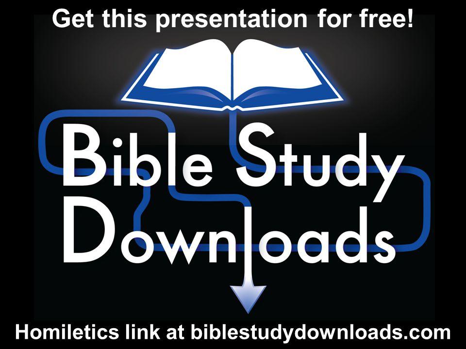 Homiletics link at biblestudydownloads.com