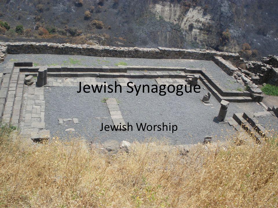 Jewish Synagogue Jewish Worship