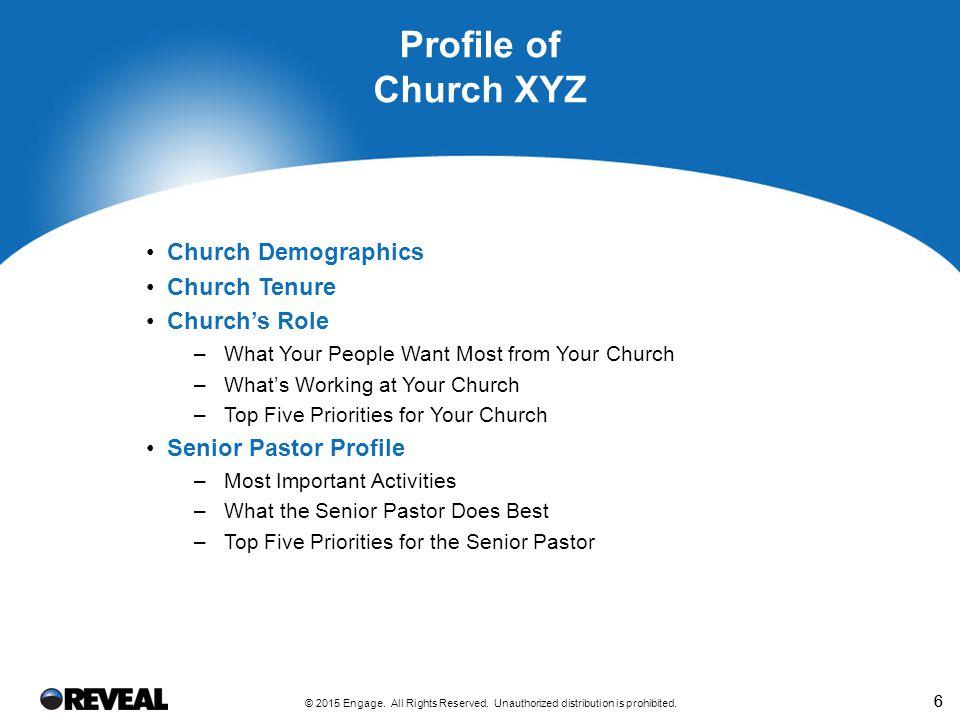 Church XYZ's Demographics