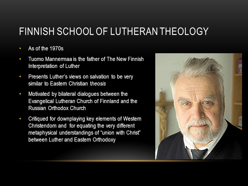 Finnish school of Lutheran theology