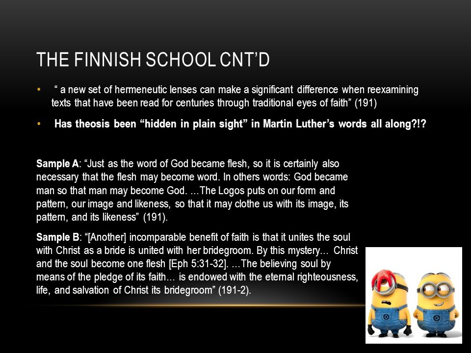 The Finnish school CNT'D