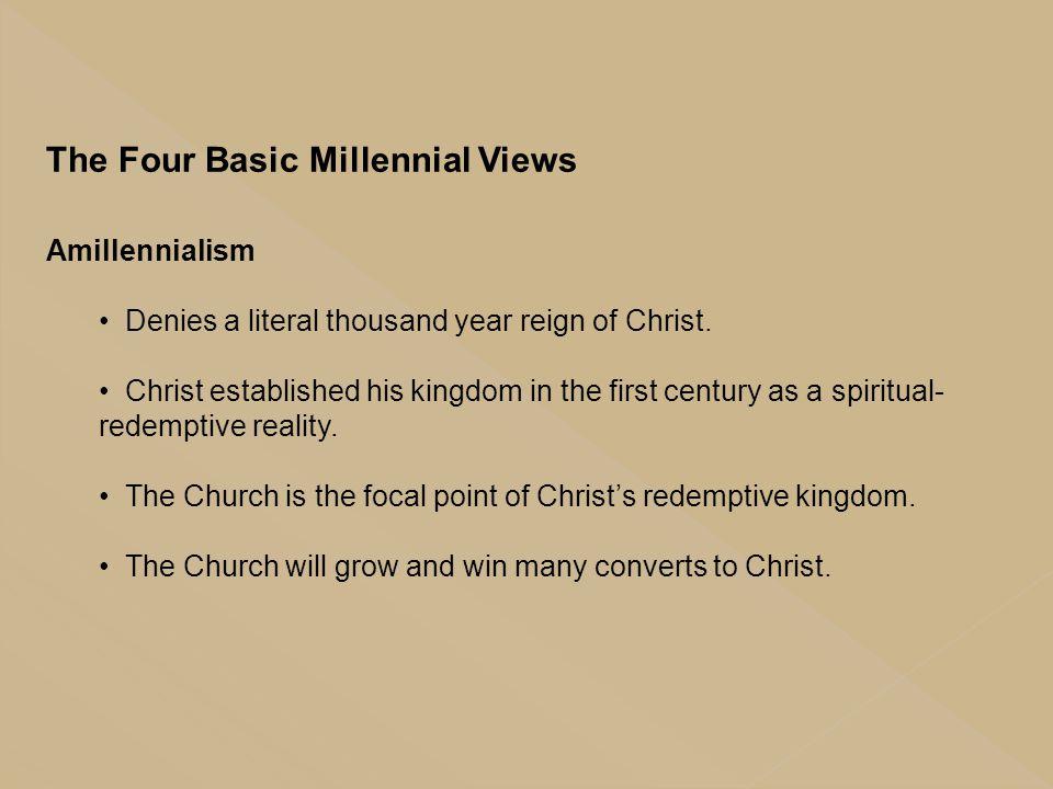 The Four Basic Millennial Views
