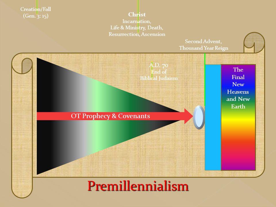 Premillennialism OT Prophecy & Covenants Christ A.D. 70 The Final