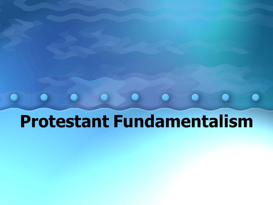 Protestant Fundamentalism