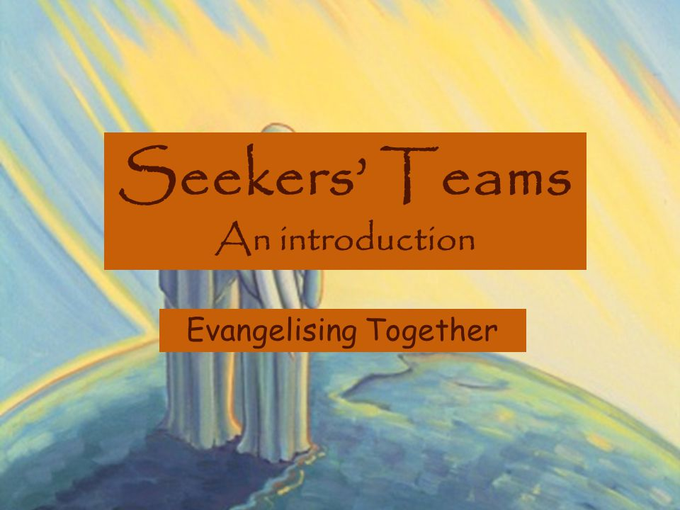 Evangelising Together