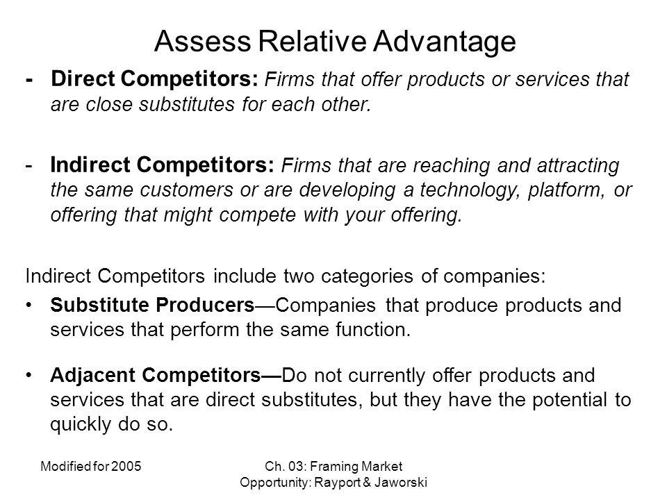 Assess Relative Advantage