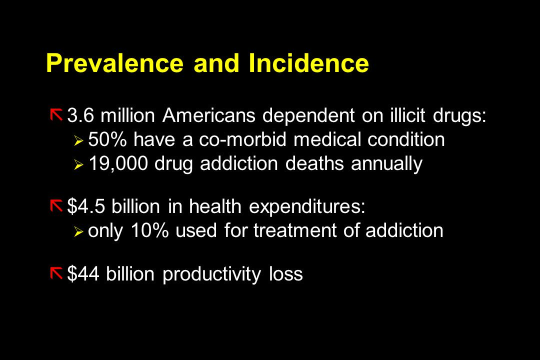 Prevalence and Incidence