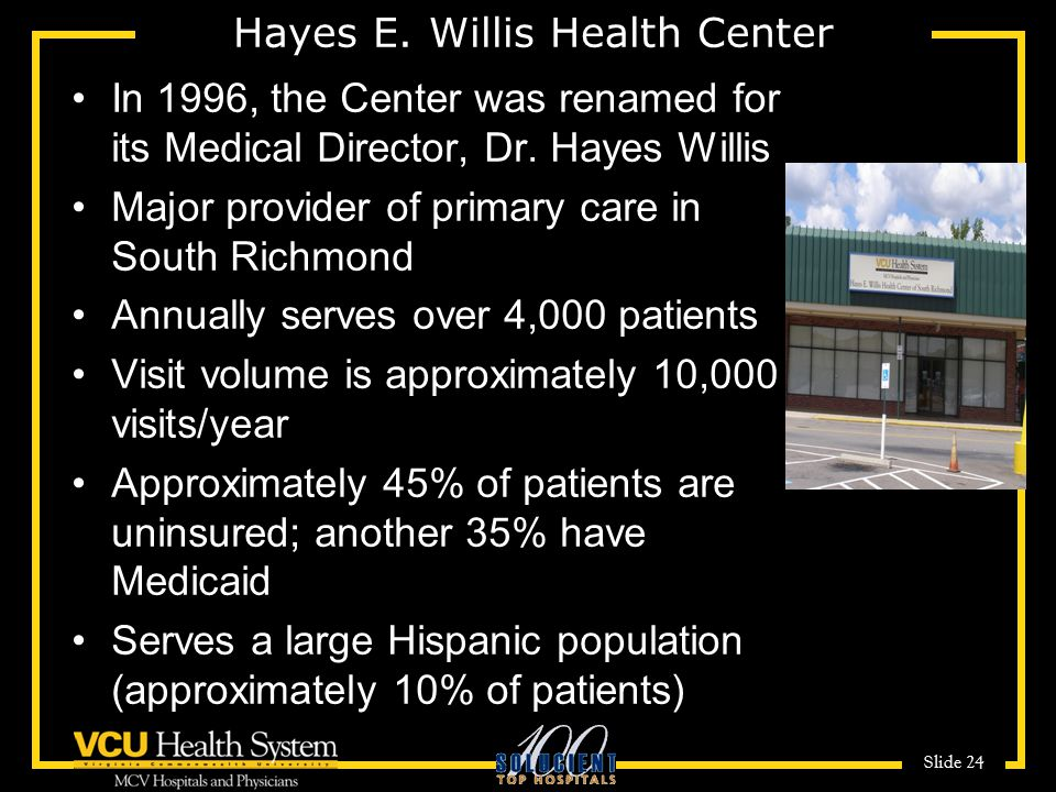 Hayes E. Willis Health Center