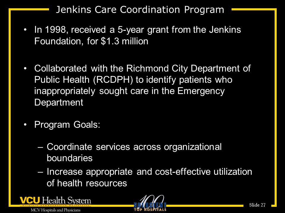 Jenkins Care Coordination Program