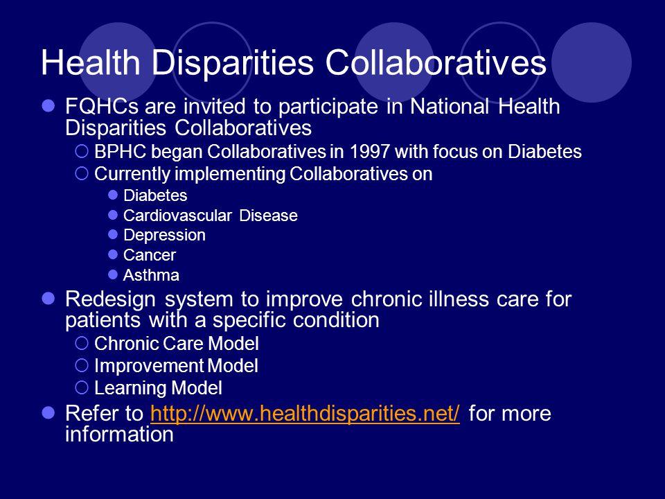 Health Disparities Collaboratives