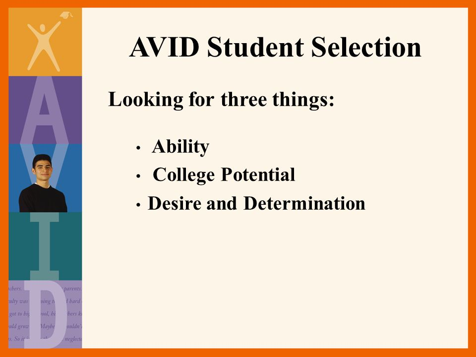 AVID Student Selection