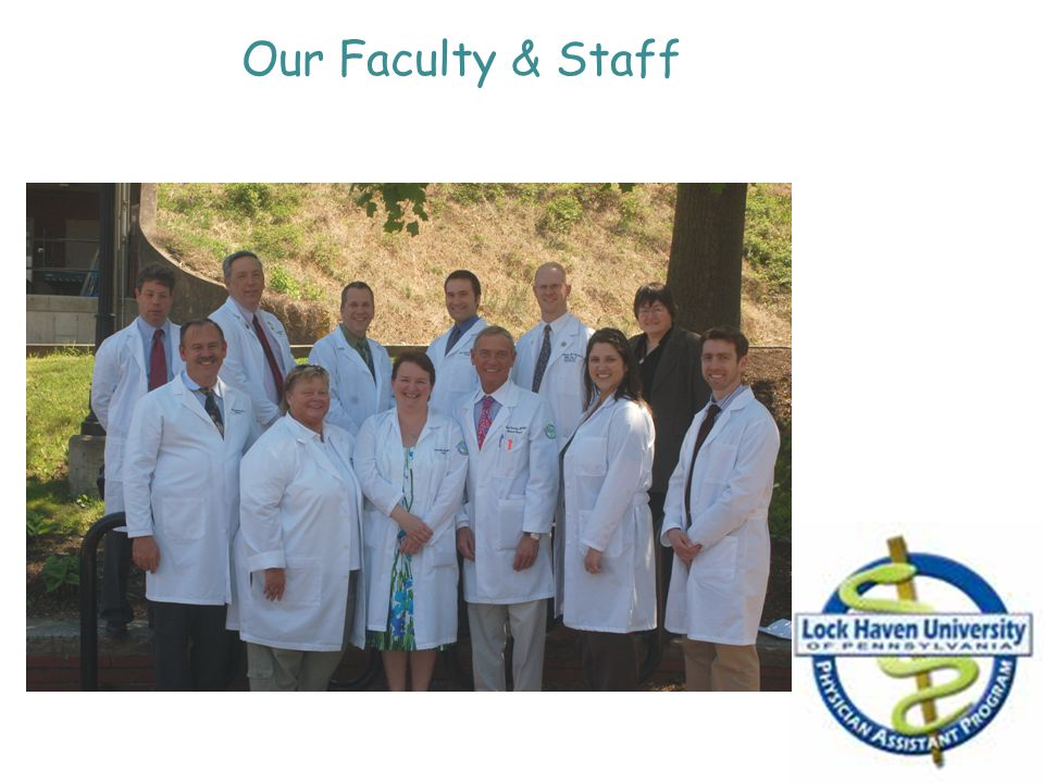 Our Faculty & Staff