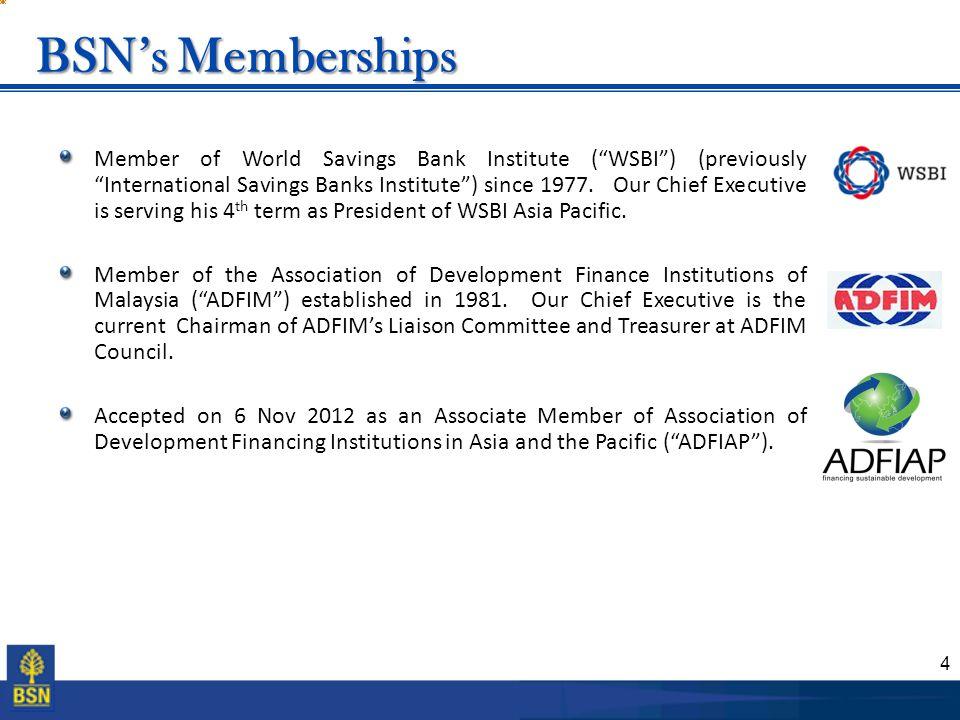 BSN's Memberships
