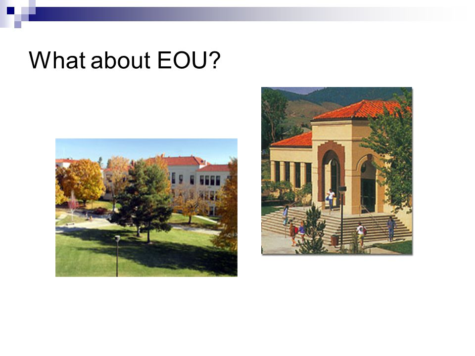 What about EOU