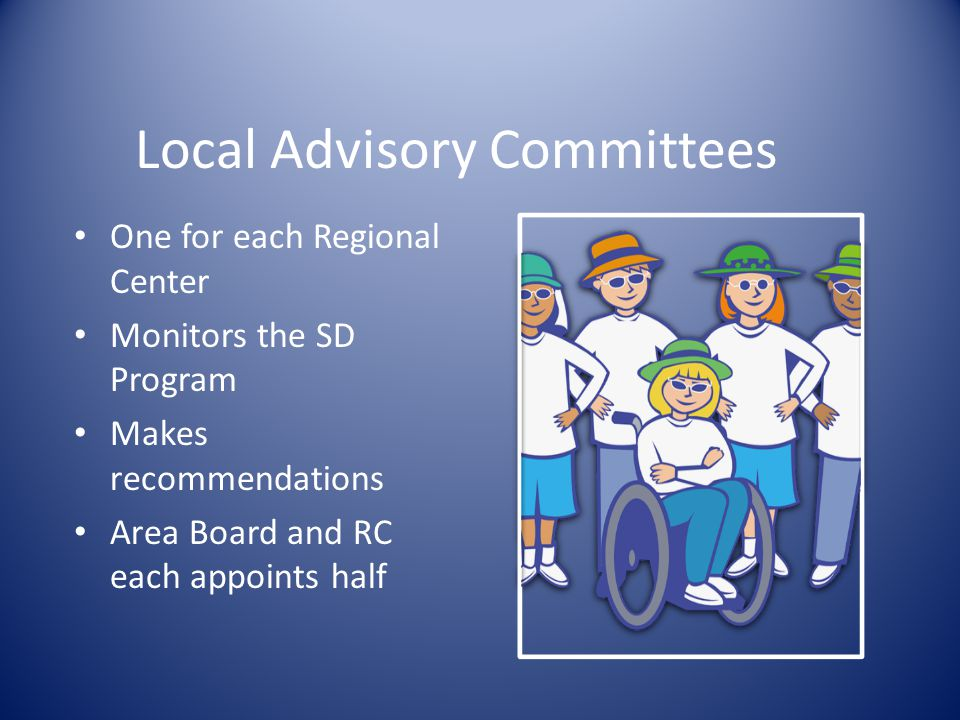 Local Advisory Committees