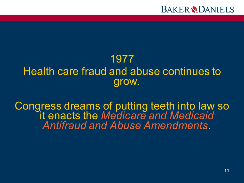 Health care fraud and abuse continues to grow.