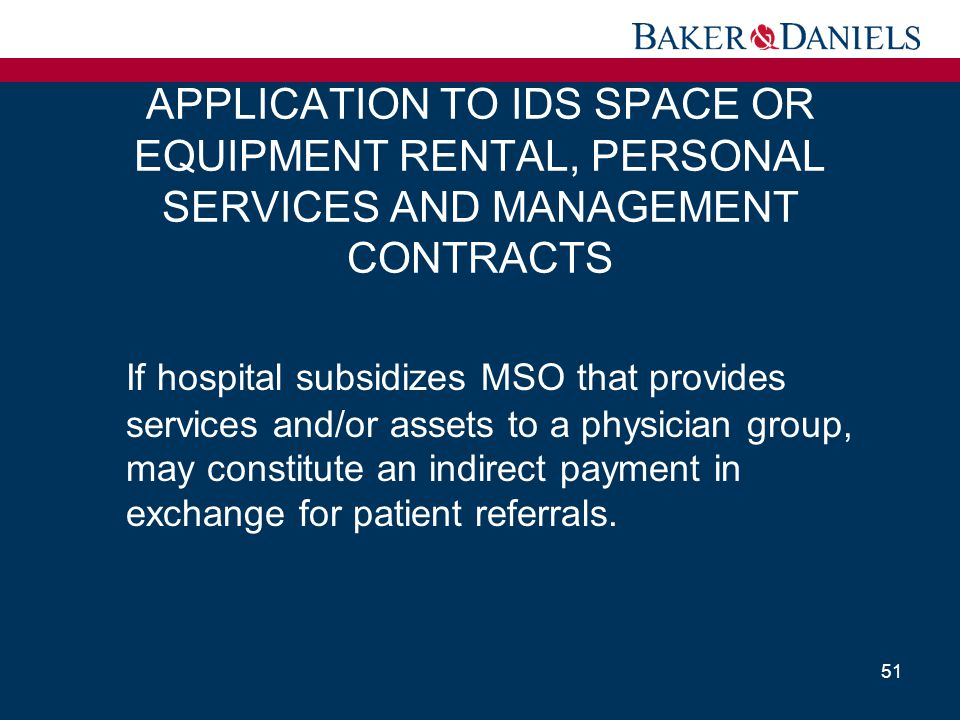 APPLICATION TO IDS SPACE OR EQUIPMENT RENTAL, PERSONAL SERVICES AND MANAGEMENT CONTRACTS