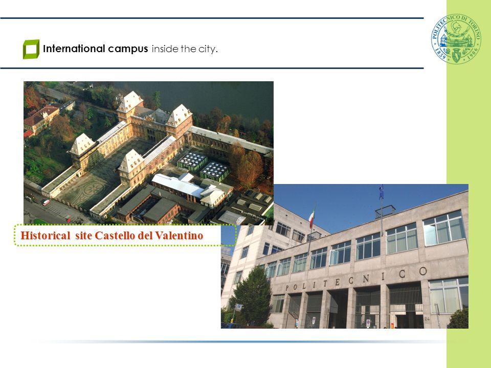 Historical site Castello del Valentino