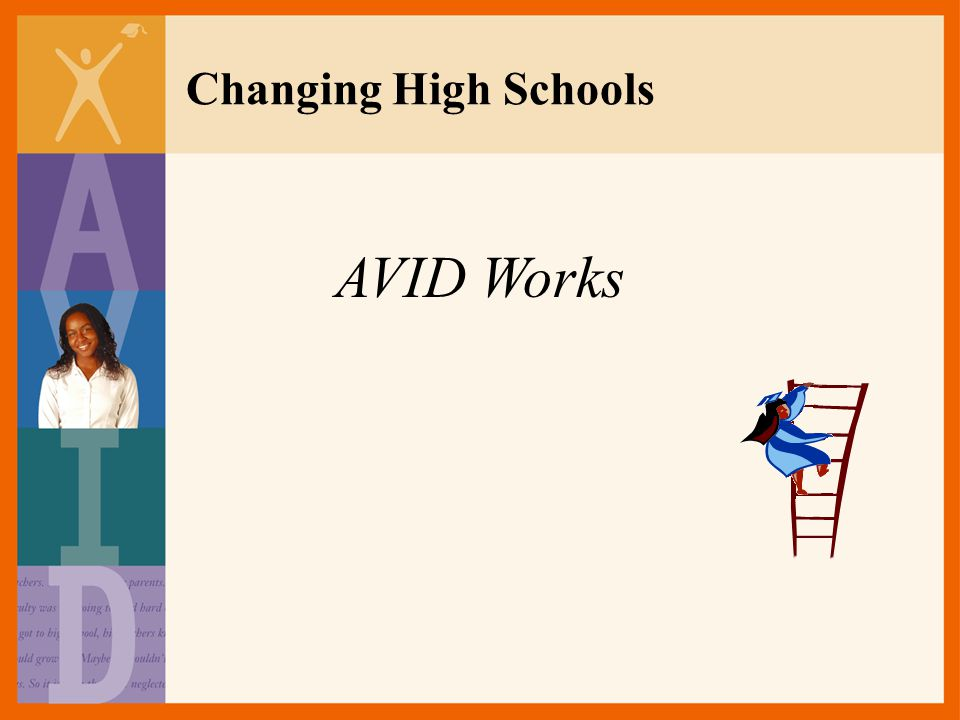 Changing High Schools AVID Works