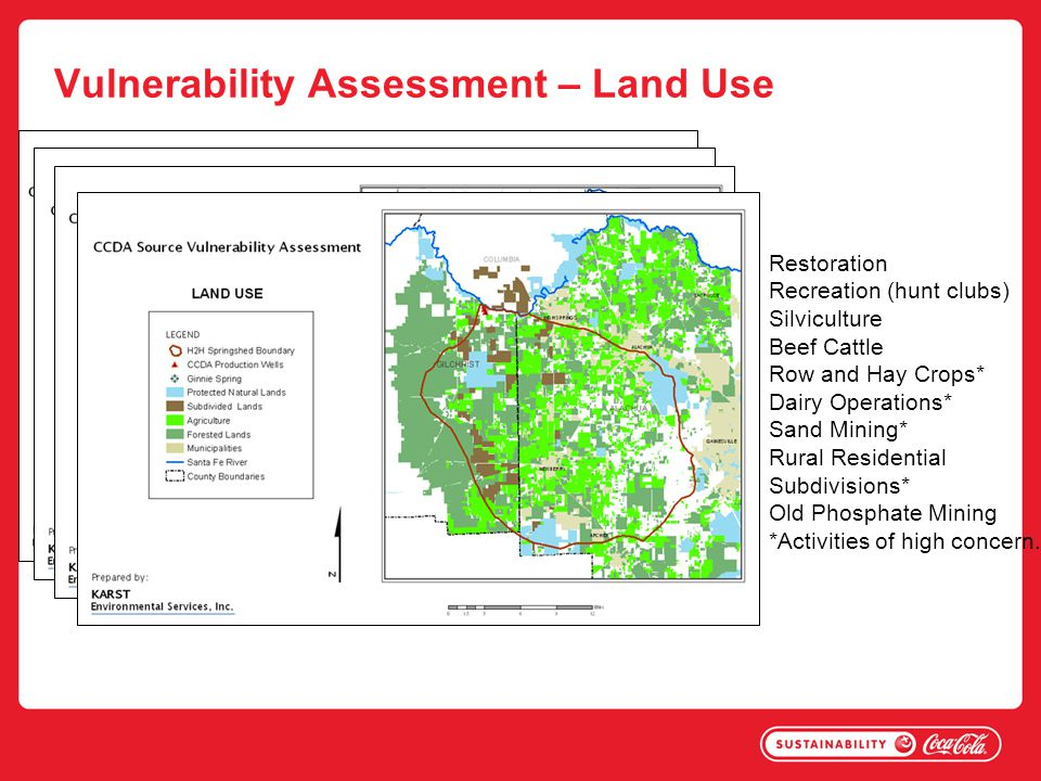 Vulnerability Assessment – Land Use