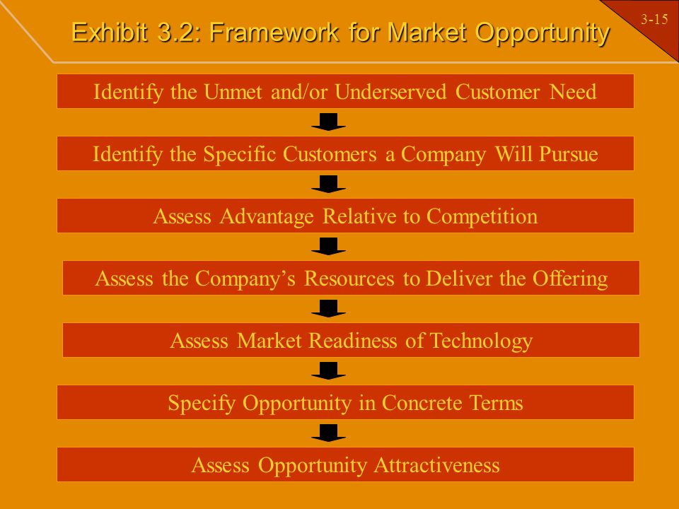 Exhibit 3.2: Framework for Market Opportunity