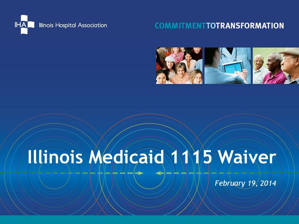 Illinois Medicaid 1115 Waiver February 19, 2014