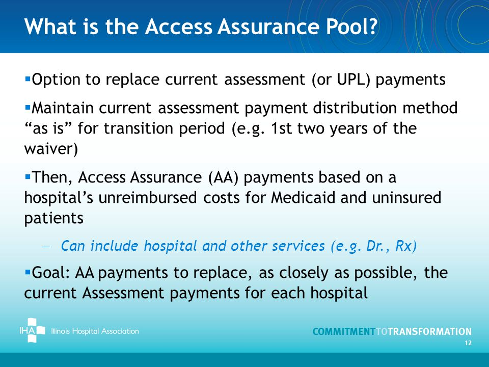 What is the Access Assurance Pool