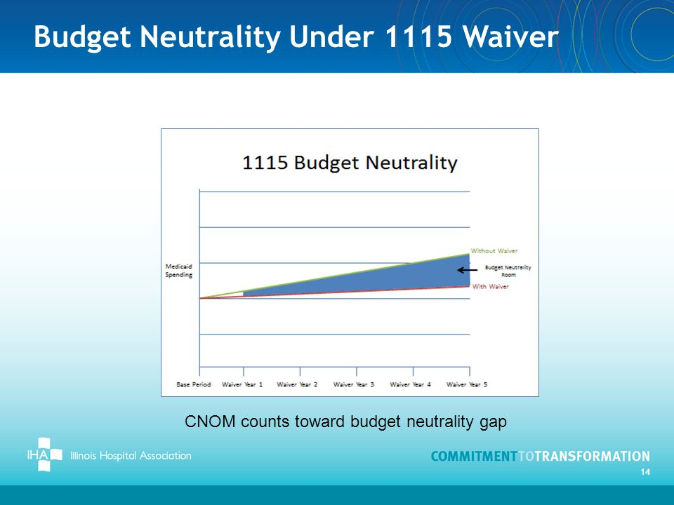 Budget Neutrality Under 1115 Waiver