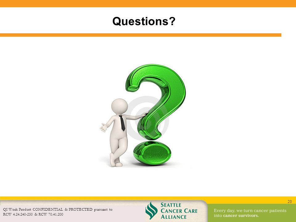 Questions QI Work Product CONFIDENTIAL & PROTECTED pursuant to