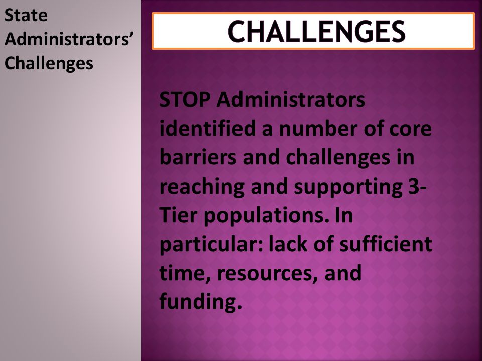 State Administrators'