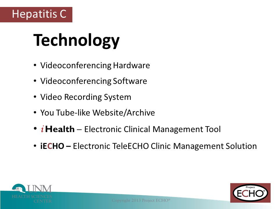 Technology i Health – Electronic Clinical Management Tool