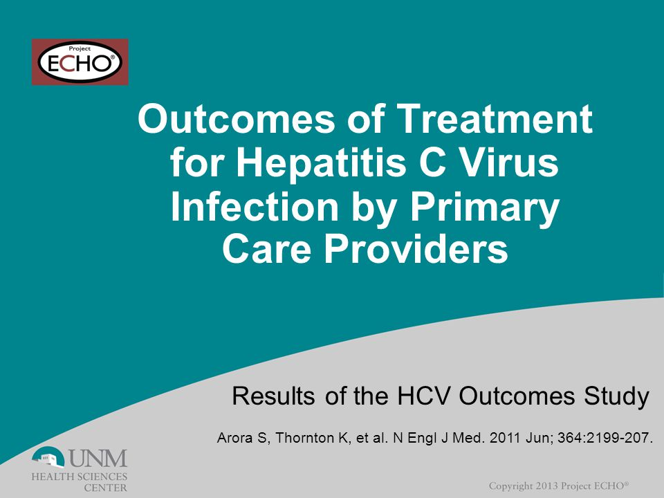 Results of the HCV Outcomes Study