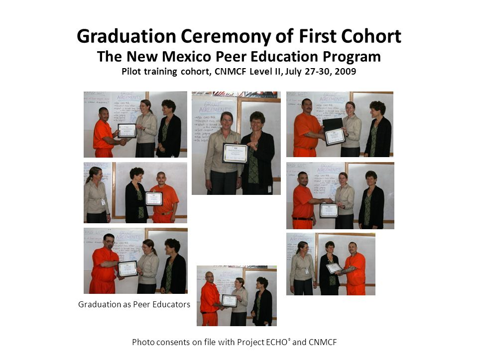 Graduation as Peer Educators