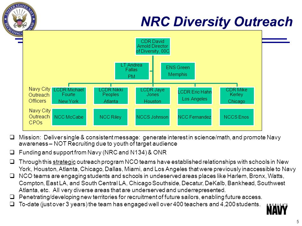 NRC Diversity Outreach