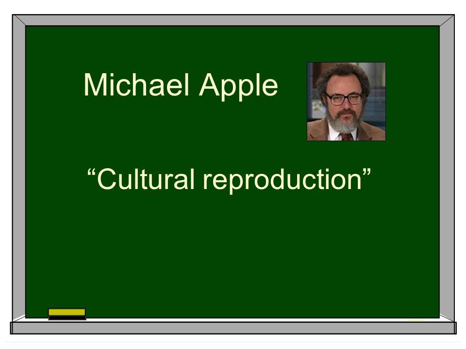 Cultural reproduction