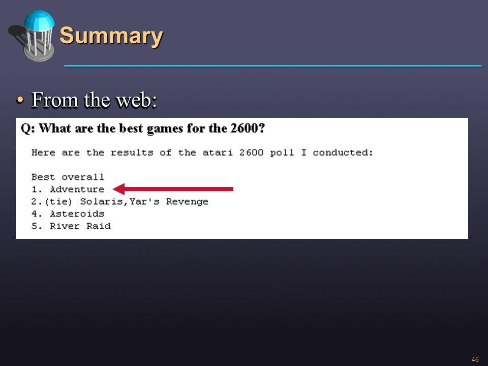 Summary From the web: asdasdasd