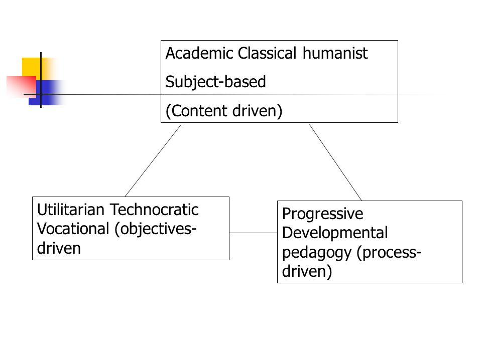 Academic Classical humanist