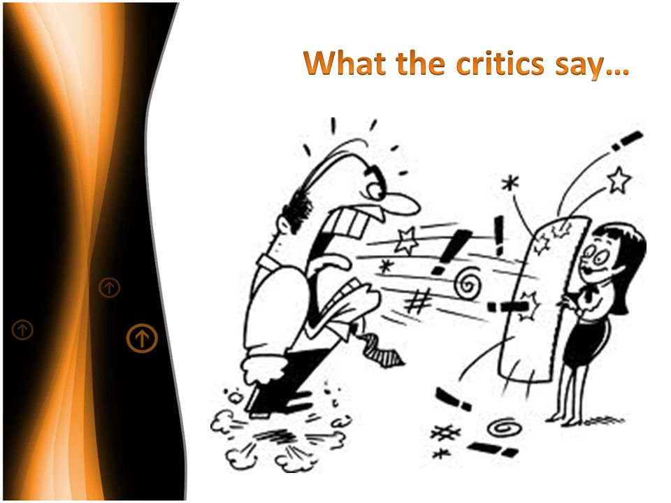What the critics say…