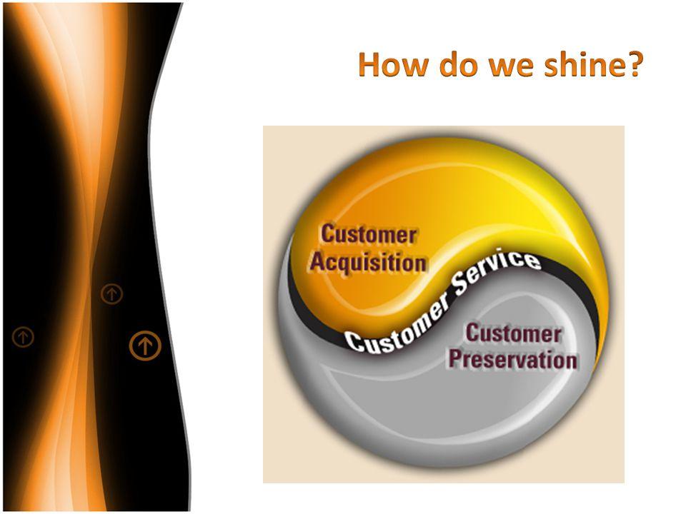 How do we shine