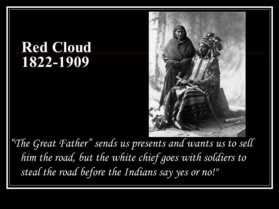 Red Cloud 1822-1909