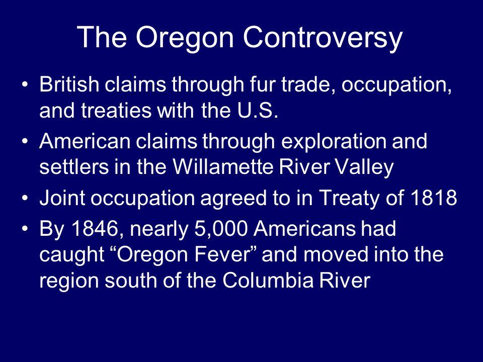 The Oregon Controversy