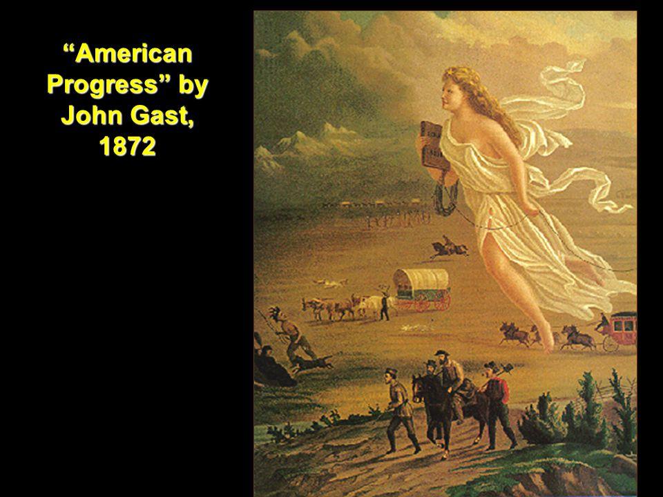 American Progress by John Gast, 1872