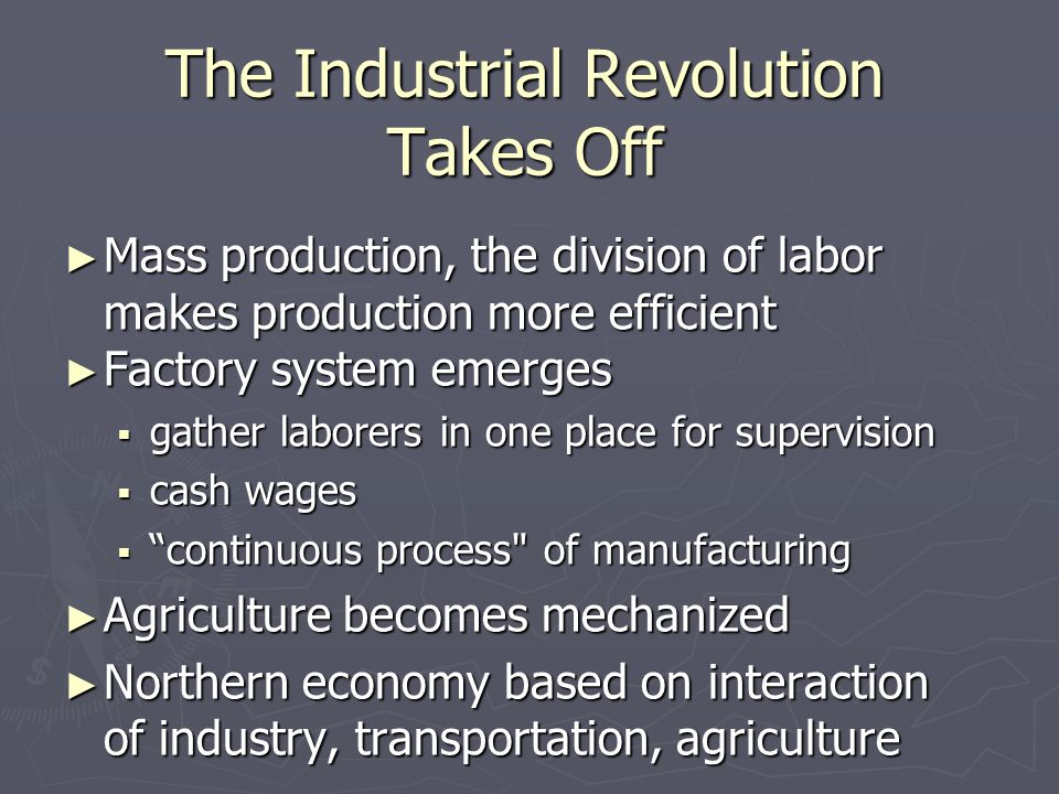 The Industrial Revolution Takes Off