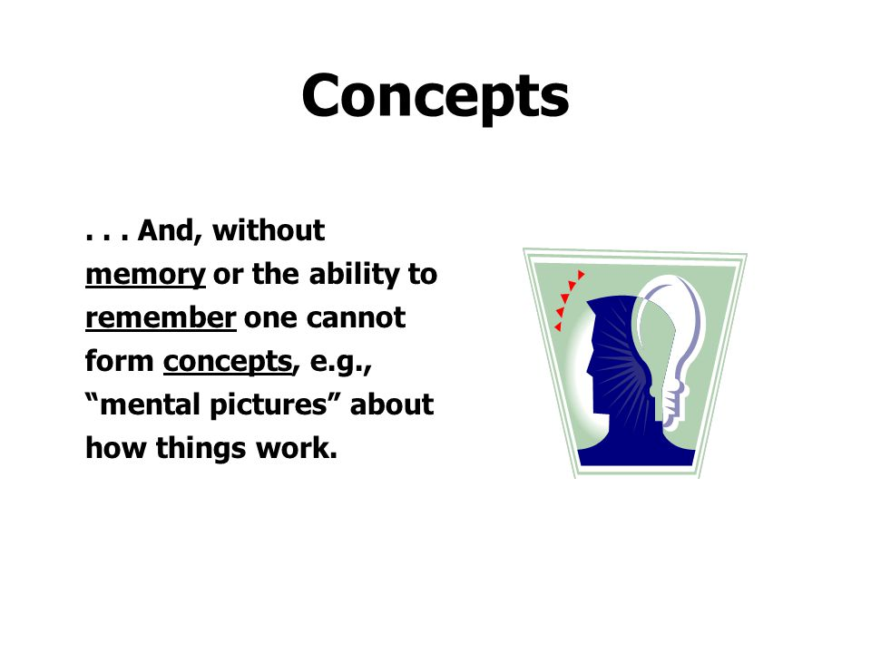 Concepts .