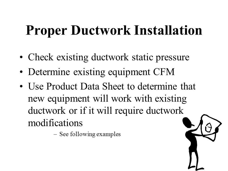 Proper Ductwork Installation
