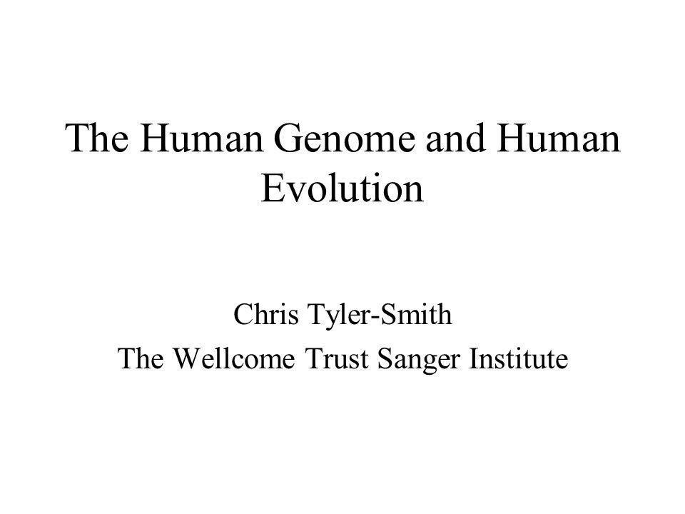 The Human Genome and Human Evolution