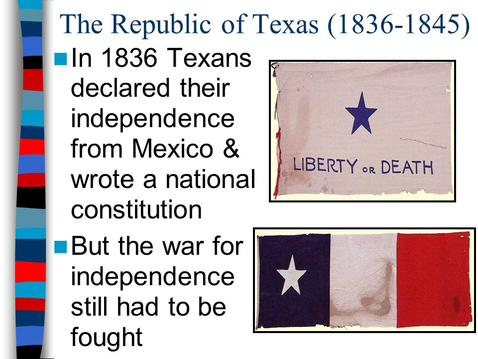 The Republic of Texas (1836-1845)