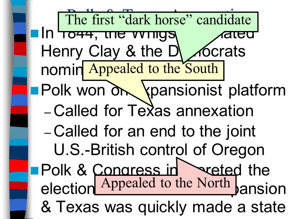 Polk & Texas Annexation